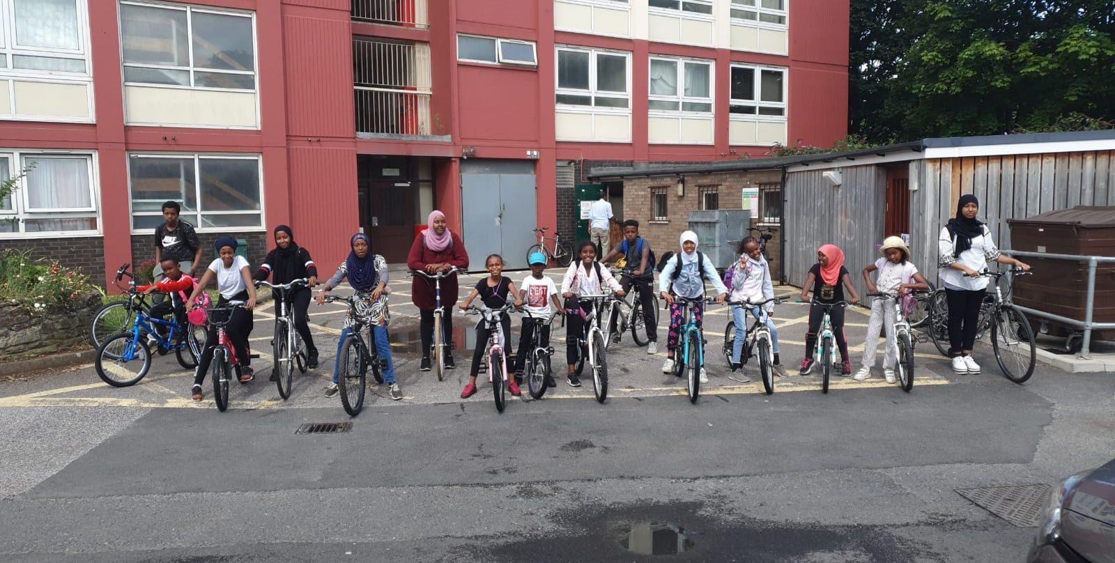 Bike tour day